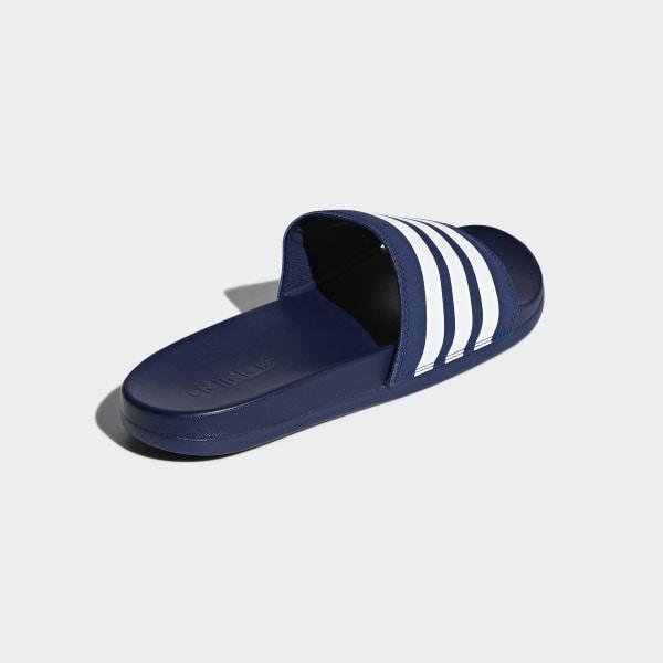adidas Cloudfoam Plus Stripes Adilette Blau   adidas Deutschland