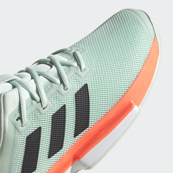 adidas SoleMatch Bounce Hard Court Shoes Green | adidas US