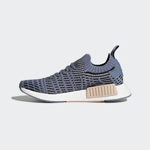 adidas NMD_R1 STLT Primeknit Shoes Blue | adidas US