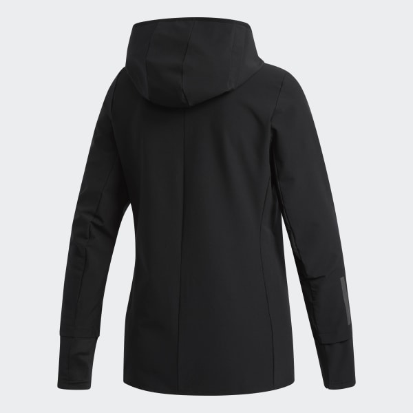 Details about adidas Response Wind Womens Running Jacket Grey