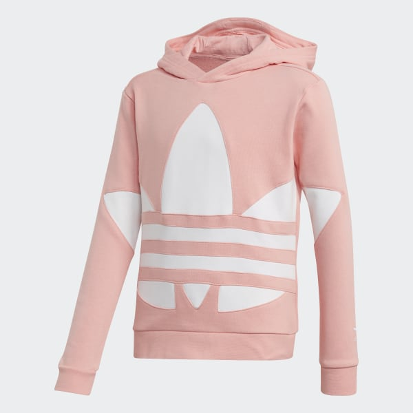 The newest adidas Originals TREFOIL   Mens Sweatshirt pink