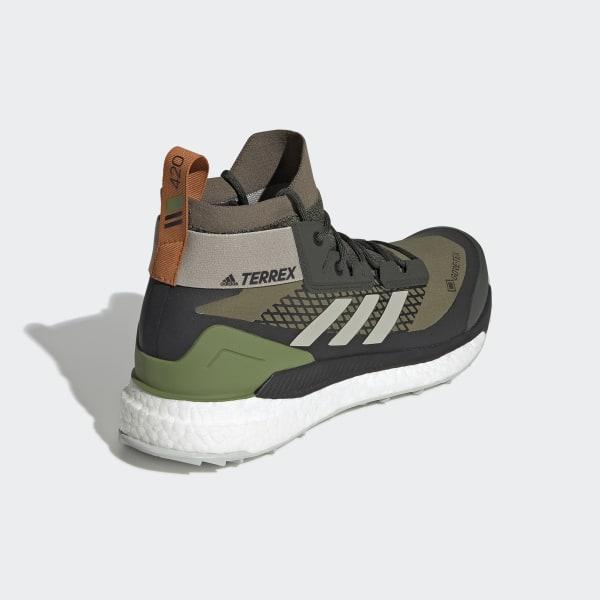 adidas Terrex Free Hiker GOR TEX Hiking Shoes Green   adidas US