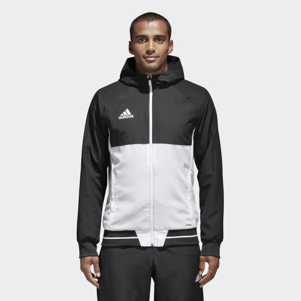 adidas Tiro 17 Presentation Jacket Black | adidas New Zealand