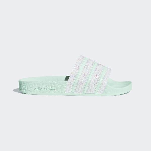 adidas Adilette Badslippers - Groen | adidas Officiële Shop
