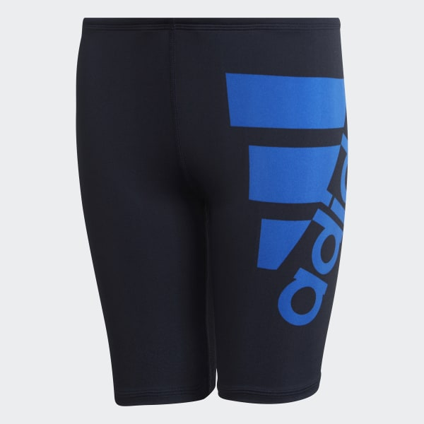 Adidas Jungen Solide Badehose Schwarz