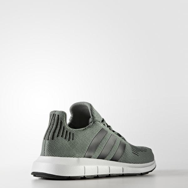 Adidas Swift Run Night Cargo Green & White Shoes Green, Womens Runners Runners, Womens