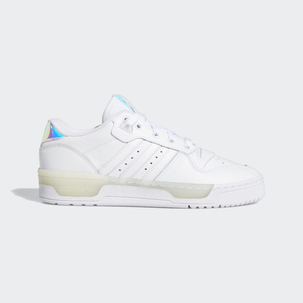 Adidas Rivalry Low sneakers White | Sneakers, Shoes