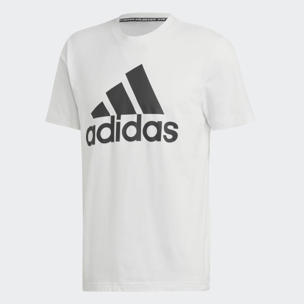 adidas Must Haves Badge of Sport Tee White | adidas US