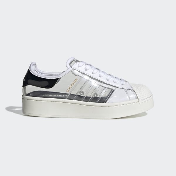 superstar adidas white and black
