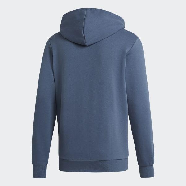 adidas Essentials 3-Stripes Fleece Hoodie - Blauw | adidas Officiële Shop