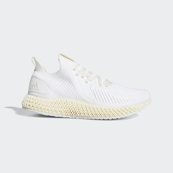 adidas Alphaedge 4D Shoes White | adidas UK