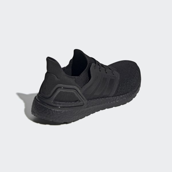 Giày UltraBoost 20 Core Black / Core Black / Solar Red EG0691