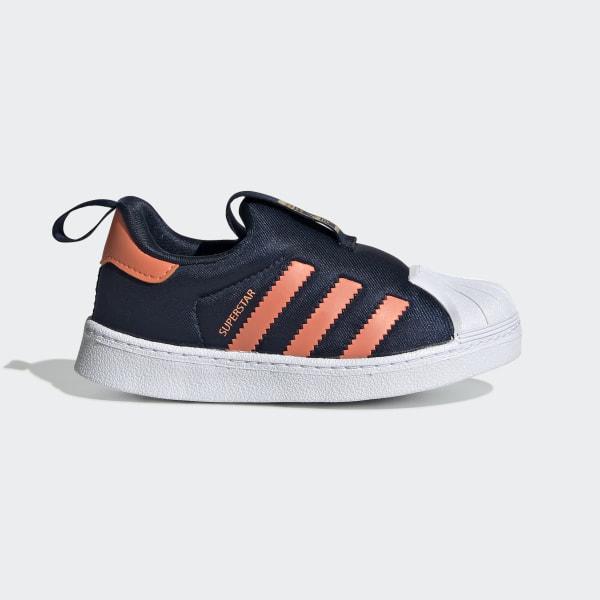 Adidas Superstar 360 Originals Skor Bebis Blå Sweden