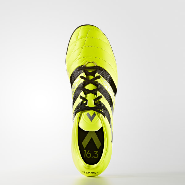 adidas Calzado Fútbol Ace 16.3 Turf Piel Amarillo | adidas Mexico