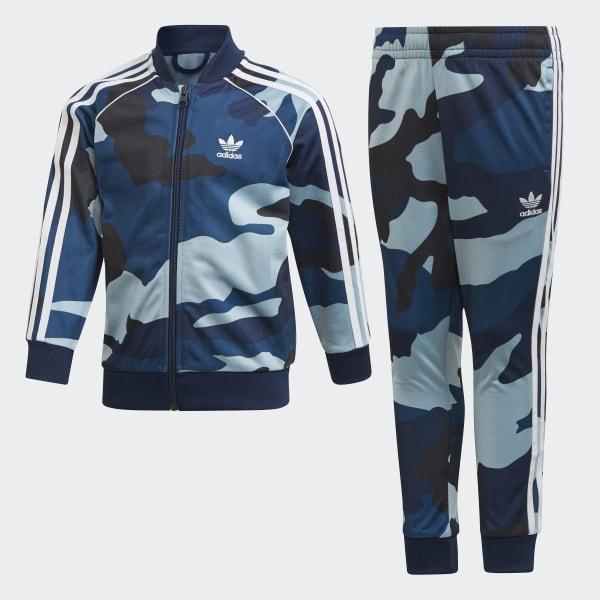 adidas Camouflage SST Track Suit Multicolor | adidas Australia