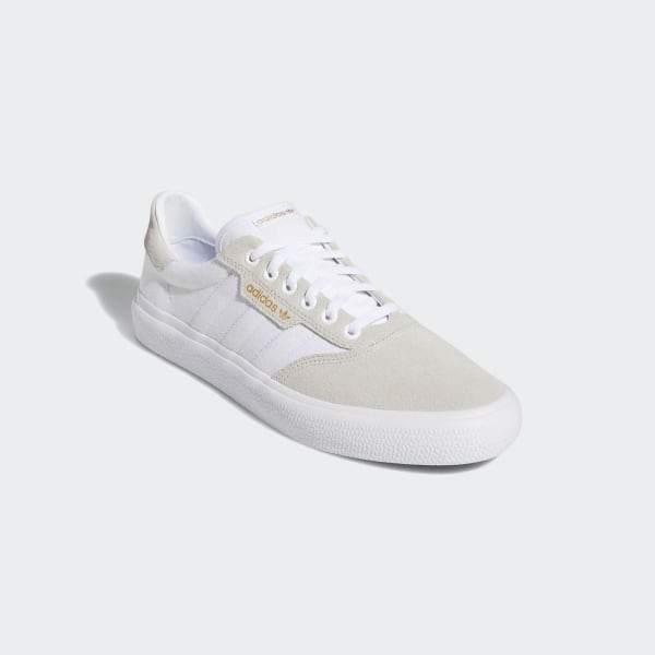 Shoes | Adidas Skateboarding MensWomens 3Mc Shoes White Gold Met