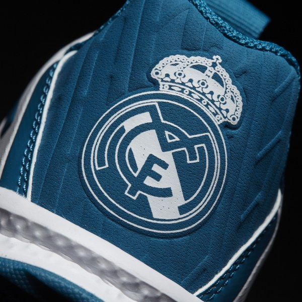 Zapatillas RapidaTurf Real Madrid Blanco adidas   adidas Chile