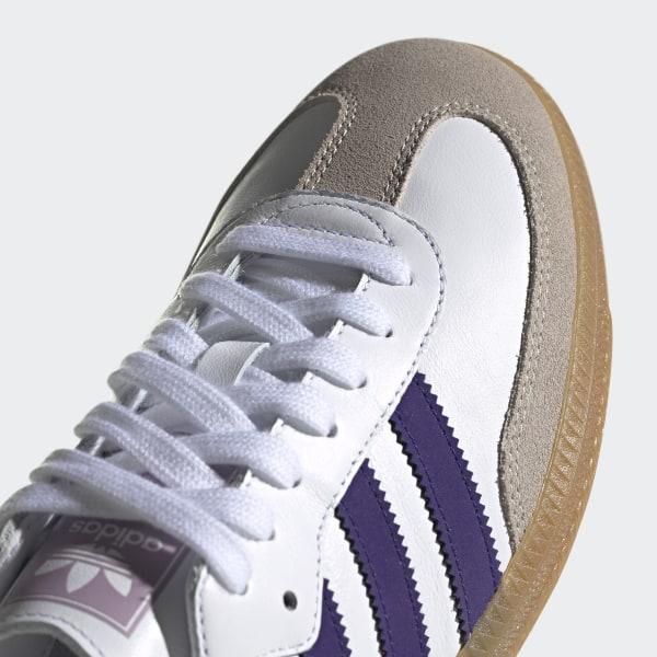 adidas Samba OG EE5452 (Cloud White Collegiate Purple