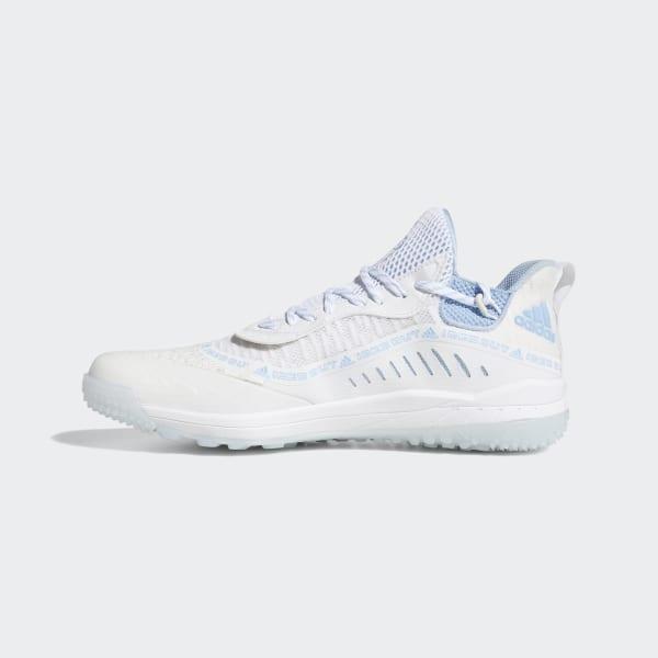 Schoenen da gymnastiek adidas zilver