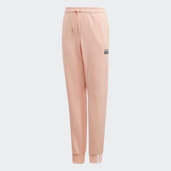 pantaloni rosa adidas