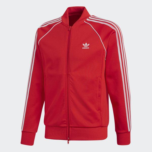 Chaqueta SST Rojo adidas | adidas España