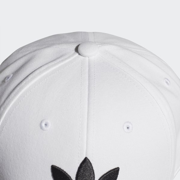 adidas originals trefoil cap white women accessories
