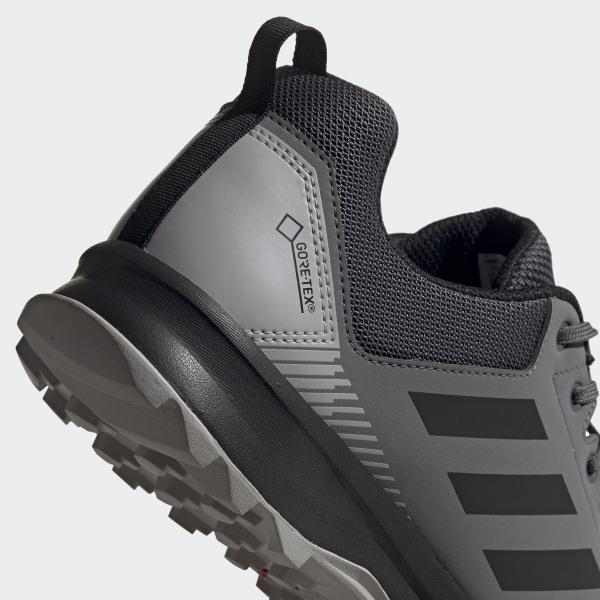 adidas TERREX Tracerocker GTX W trailrunning schoenen grijs zwart