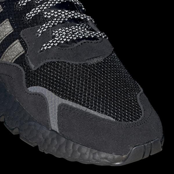 adidas nite jogger core nero