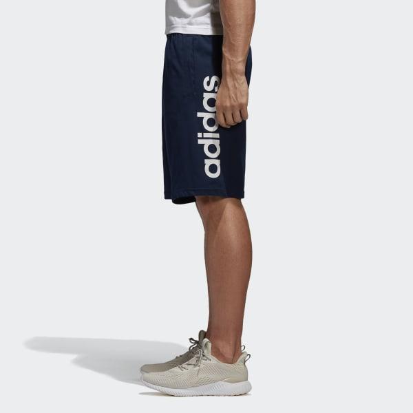 adidas Essentials Linear Shorts Blue | adidas New Zealand