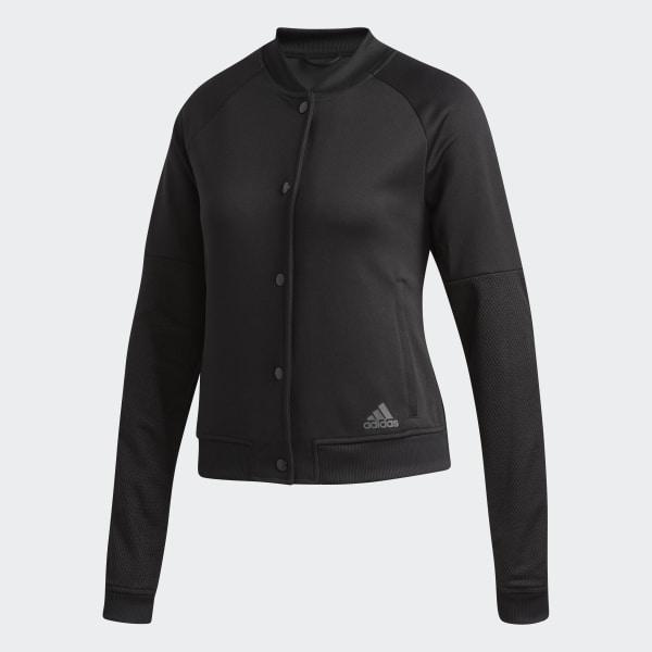 adidas Snap Jacket Black   adidas US