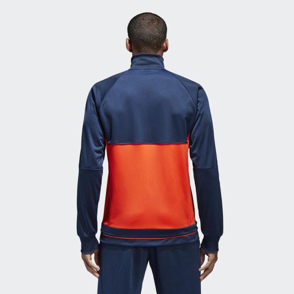 ADIDAS PERFORMANCE Trainingsjacke Tiro 17 Blau orange