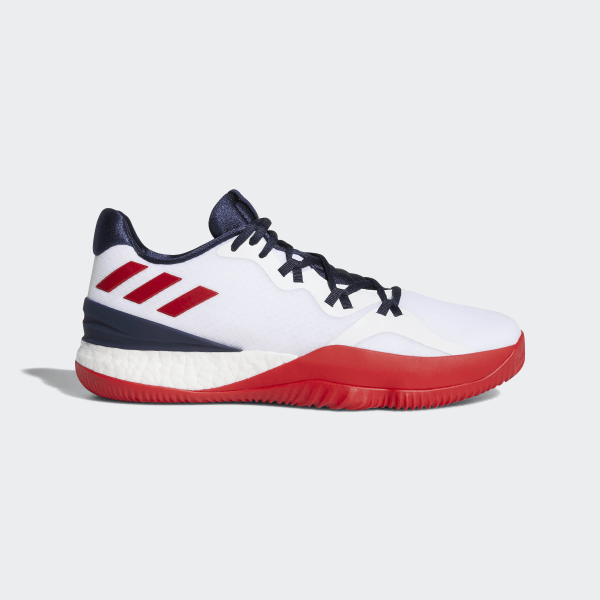 promo codes timeless design recognized brands adidas Crazylight Boost 2018 Shoes - White | adidas UK