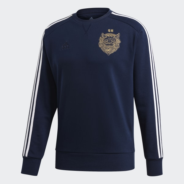 Real Madrid LNY Sweatshirt Night Indigo FI4831