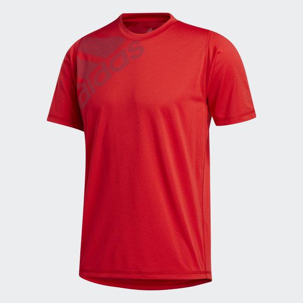 adidas FreeLift Badge of Sport Graphic T shirt Rød | adidas Denmark