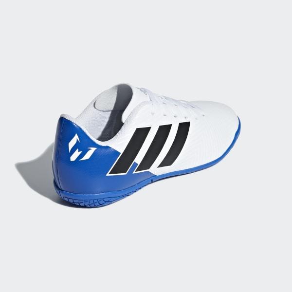 adidas Calzado de fútbol Nemeziz Messi Tango 18.4 Indoor Niño Blanco | adidas Mexico