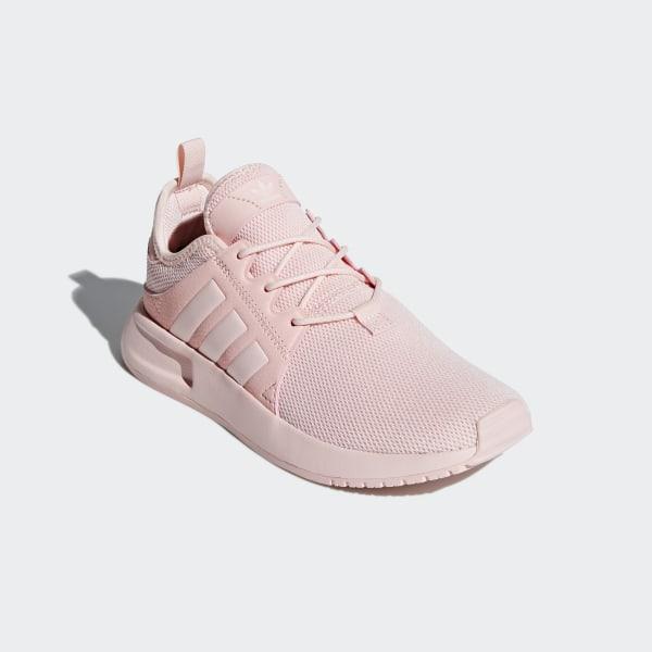 adidas Originals Girls' X_PLR J Running Shoe, ICE Pink, 4