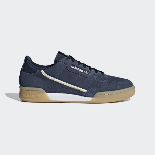 adidas Continental 80 Shoes Blue   adidas UK