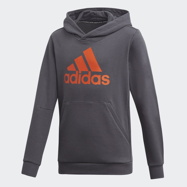 adidas Must Haves Badge of Sport Hoodie Grau   adidas Austria