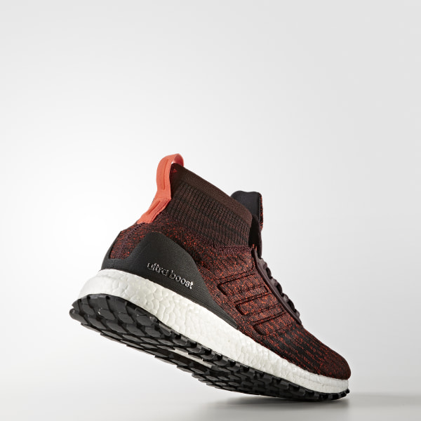 Adidas UltraBoost All Terrain Mens Shoes Dark Burgundy//Black//White s82035