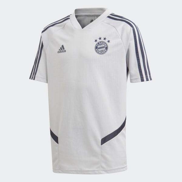adidas FC Bayern Training Jersey Szary | adidas Poland