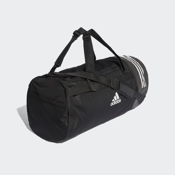 adidas Convertible 3 Streifen Duffelbag L Schwarz | adidas Deutschland