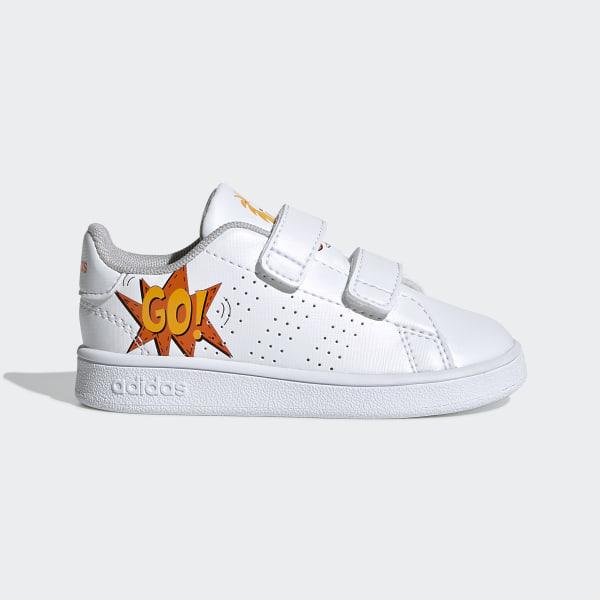 scarpe adidas advantage bianche bimba