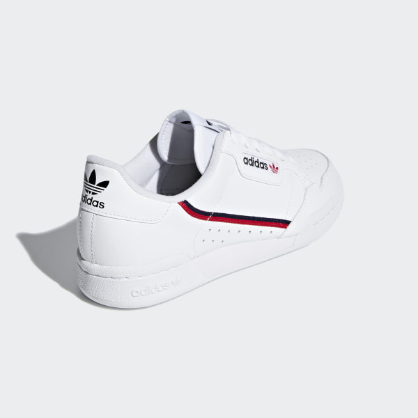 Continental 80 Shoes Cloud White / Scarlet / Collegiate Navy F99787