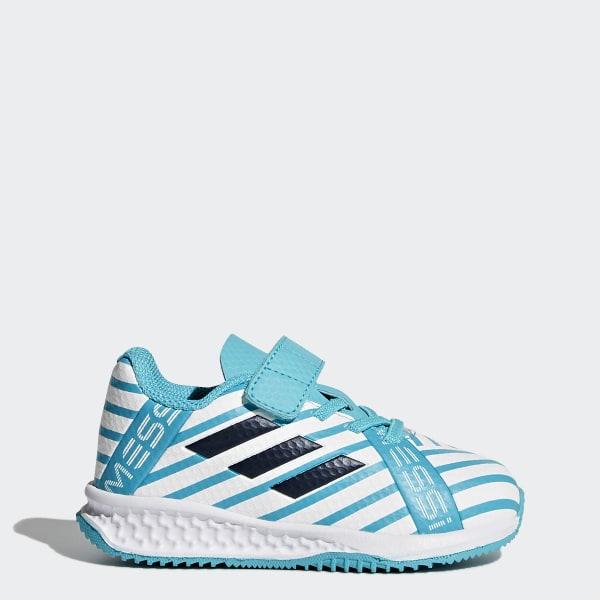 Zapatillas RapidaTurf Messi Azul adidas   adidas Chile