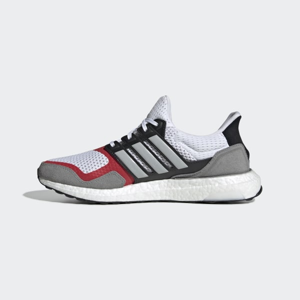 Adidas Performance UltraBOOST S&L EF2027 Black Red Grey Ultra Boost Mens Shoes | eBay