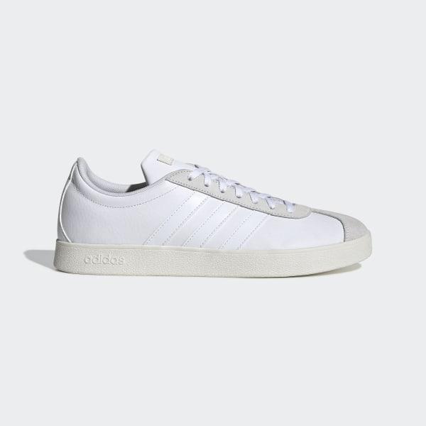Tênis Adidas Vl Court 20 Masculino Azul e Branco