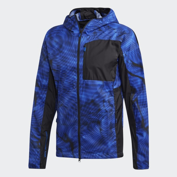 adidas Terrex_WM Wind Jacket Blue | adidas US
