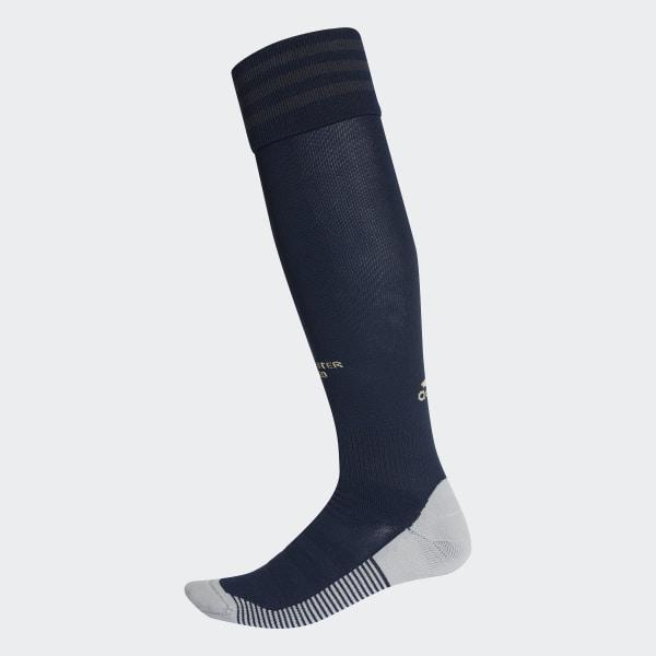 matériau sélectionné sortie en ligne en présentant Chaussettes Manchester United Third - Bleu adidas   adidas France