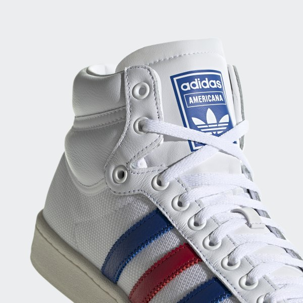 adidas Americana Hi Shoes - White | adidas UK