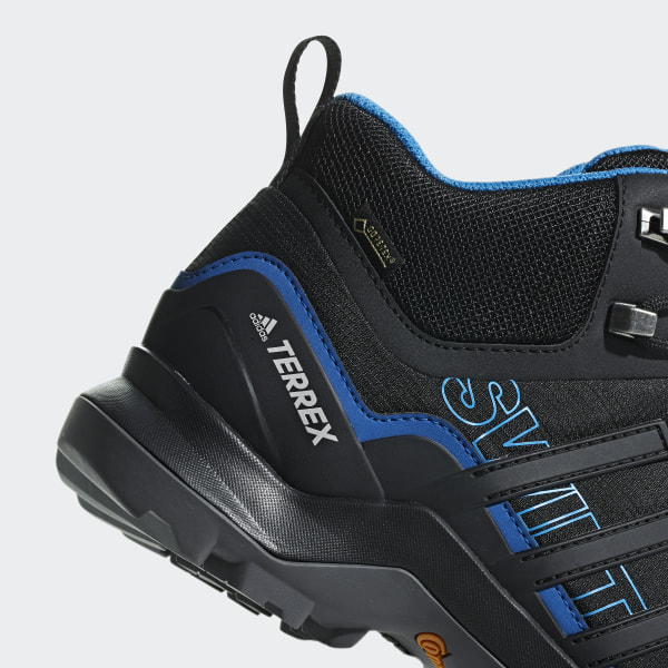 adidas TERREX Swift R2 Mid GTX AC7771 Herren Wanderschuhe core blackcore blackbright blue Schwarz